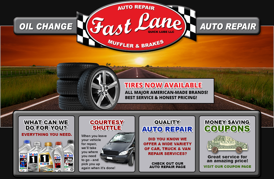 Fast Lane Quick Lube Llc No Appointment Oil Change